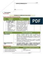 SESIONES DE APRENDIZAJE JUNIO - 4°.docx