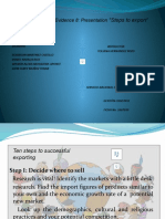 "Evidencia 8 - Presentation ""Steps to export"" (1).pptx"