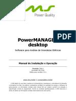 Manual Software PowerMANAGER Desktop
