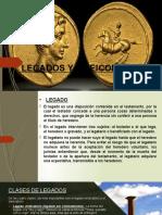 LEGADOS Y FIDEICOMISOS