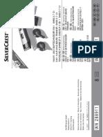 manual silvercrest