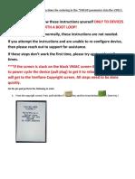VX820 Boot Loop Fix Document