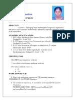 ResumeMaripriya