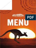 Menu outback 2020