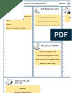 Planilha Canvas Guia do Excel