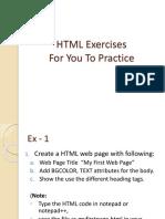 HTML_Exercises