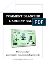 Comment blanchir l'argent sale