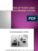 Application of Fuzzy Logic in Antilock Braking System - seminar ppt