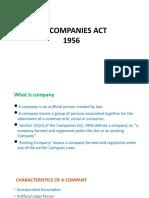 Companies act1956