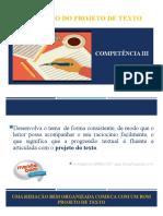 4. Competência III - Elaboração do projeto de texto