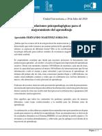 carta a fms