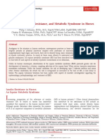 Diabetes, Insulin Resistance, and Metabolic Syndrome in Horses