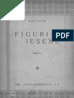 Ioan Dafin - Figuri Ieșene (1927)