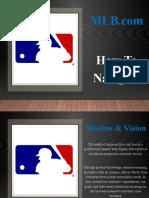 1. MLB.com Navigation