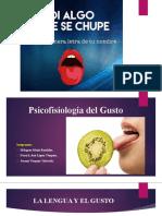 PSICOFISIOLOGIA DEL GUSTO
