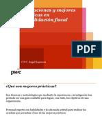 Obligaciones y mejores  prácticas en  consolidación fiscal