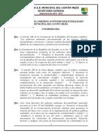 ORDENANZA SUSTITUTIVA PARA LA UBICACION Y REGULACION