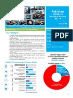 UNICEF Pakistan COVID-19 Situation Report No. 14 - 16-31 July 2020.pdf