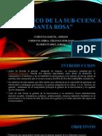 DIAGNOSTICO DE LA SUB-CUENCa
