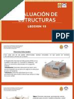 Evaluación de estructuras - LECCION 15.pptx