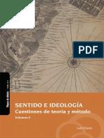 Claros, Luis. Sentido e ideología. Cuestiones de teoría y método (FINAL)