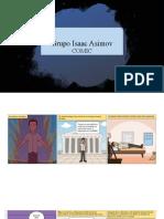 ACTIVIDAD DEL GRUPO DE ISAAC ASIMOV.LENGUA Y LITERATURA