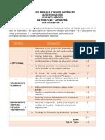 AUTOEVALUACION SEGUNDO PERIODO SEXTOS -  ANDRES CAMILO RODRIGUEZ VILLANUEVA