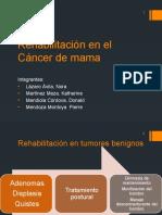 Rehabilitación en el Cáncer de mama.pptx
