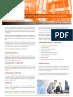 Consultoría - Formación- Implantación - Soporte