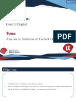 Presentación 5.1 - Análisis de Sistemas de Control Discretos.pptx