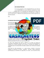 PIB DE LA EMPRESA CASALACTEOS SAS