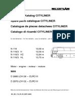 Neoplan CityLiner Spare Parts Catalog-1