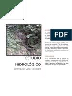 4. ESTUDIO HIDROLÓGICO