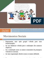MOVIMENTOS SOCIAIS E CIDADANIA