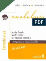 Vocabulario. Español lengua extranjera - Marta Baralo Ottonello.pdf