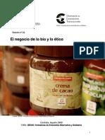 Artic. N° 10 El negocio de lo bio  y lo etico.pdf