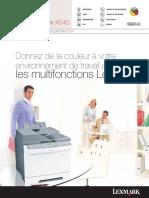 X540_Brochure_FR