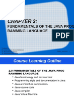 CHAPTER 2 -FUNDAMENTAL OF JAVA PROGRAMMING LANGUAGE_JUN2020