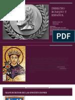 Derecho Romano y Español.pptx