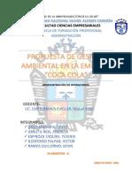 MONOGRAFÍA PROPUESTA DE GESTIÓN AMBIENTAL ( COCA COLA)