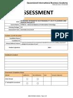 Assessment  ICTSUS601  1 of 3 V2