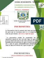 Clases Semana I y II Psicrometria