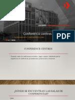 Conference centres equipamiento