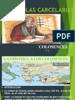 EPISTOLAS CARCELARIAS COLOSENCES COMPLETO