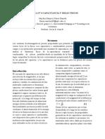 PRÁCTICA N° 4  CAPACITANCIA Y DIELECTRICOS