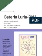 Batería Luria-DNA DIAPOSITIVAS