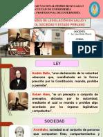 GENERALIDADES LEGISLATIVAS EN SALUD- TEMA 1
