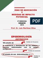 CLASE Nº 3 MEDIDAS DE ASOCIACIÓN E IMPACTO (USACH 2014).PPT