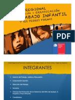 Presentación  de gestión 2010 - Trabajo Infantil