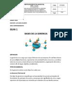 GRADO ONCE BASES DE LA GERENCIA 04-08-2020